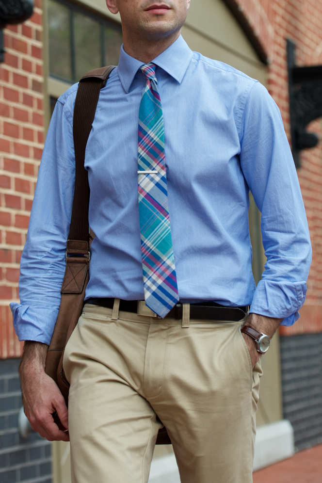 Essential Khaki Chinos - He Spoke Style