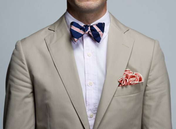 Spring Flower Pocket Square Fold - Baltimore Style Guy