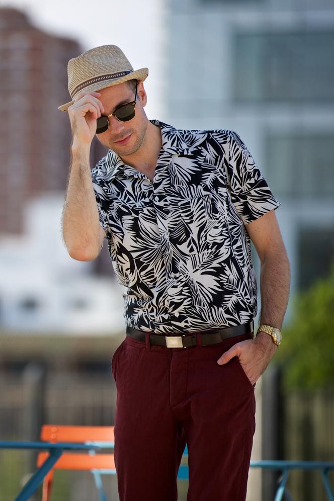 Urban Tropical Patterned Shirt - He Spoke Style