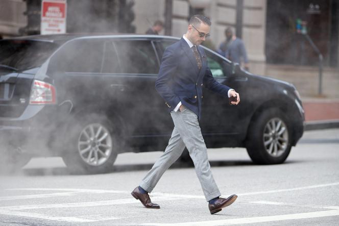 Plaid Suit, Pants Separate - He Spoke Style