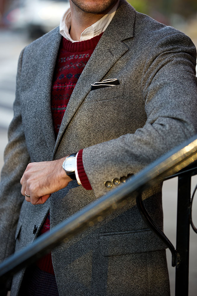 How To Dress for a Holiday Party - He Spoke Style