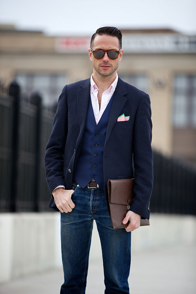 Classic Alternatives: Tasteful Personalization. The key to dressing well is to find freedom within the rules. Anyone can be completely different, since it's easy to be outrageous.