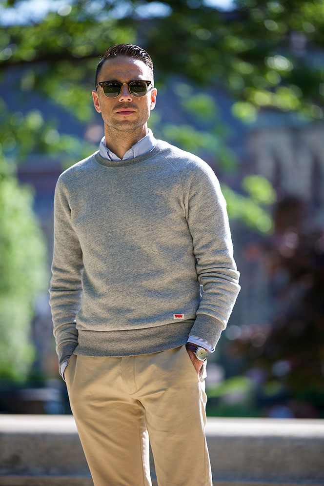 Sweatshirt: Smart Casual - He Spoke Style
