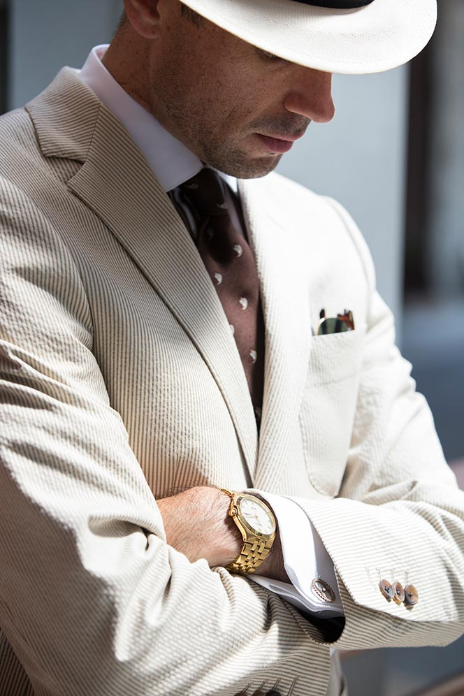Cuff Links: Show Some Personality - He Spoke Style