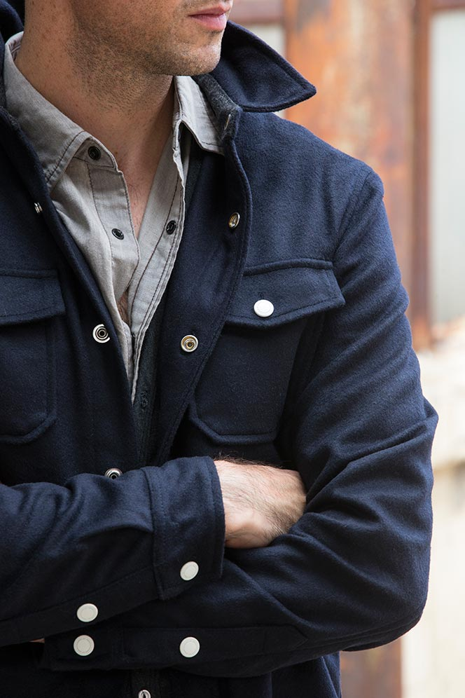 Early Fall Layering: The Shirt Jacket - He Spoke Style