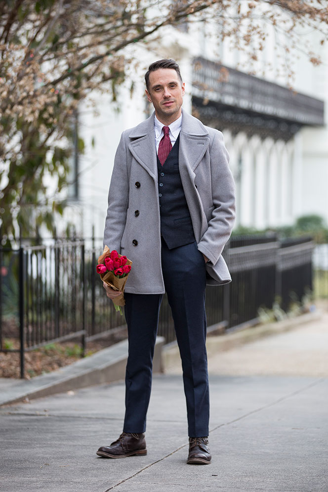 Valentine S Day Style Perfect Gentleman He Spoke Style