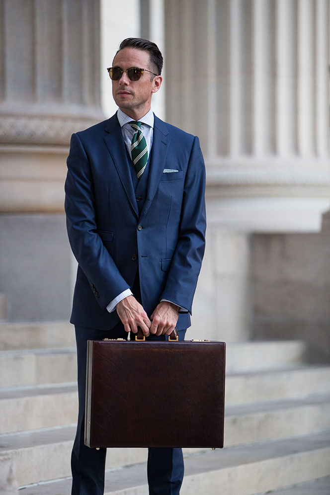 Attaché Case - He Spoke Style