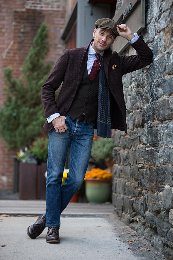 How To Wear Jeans with Boots - He Spoke Style