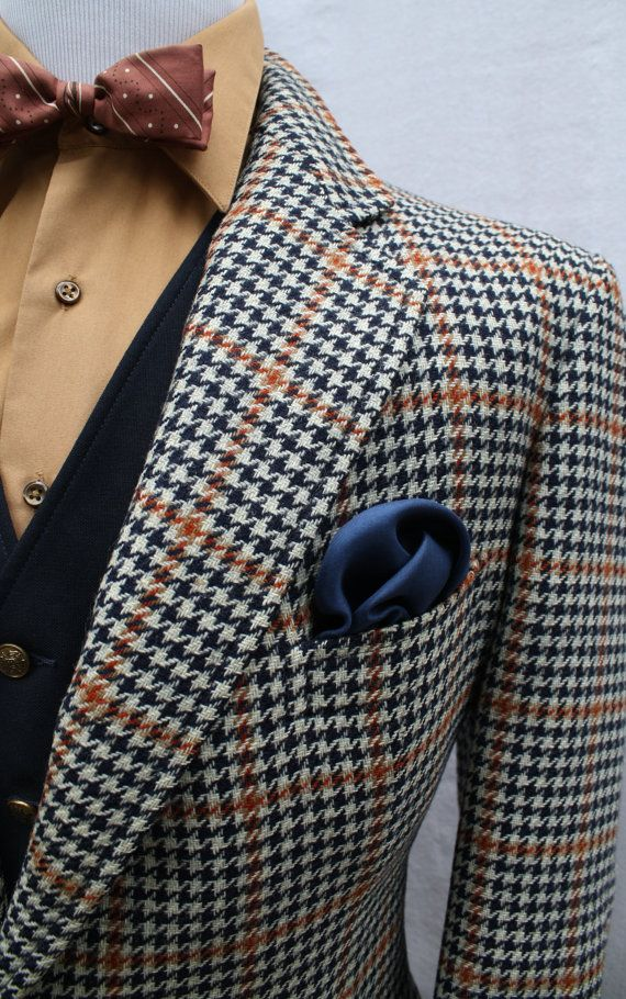 Houndstooth Fabric Pattern - History of Houndstooth - He
