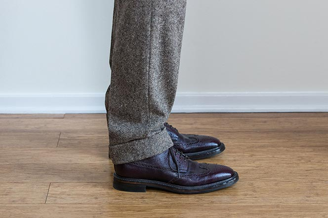 A Guide to Pant Breaks and Proper Pant Length , He Spoke Style