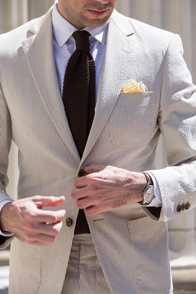seersucker suit spring wedding