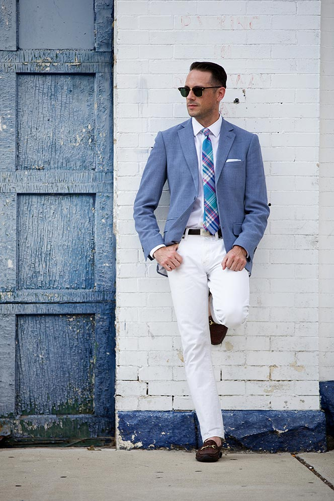 white jeans men what to wear with