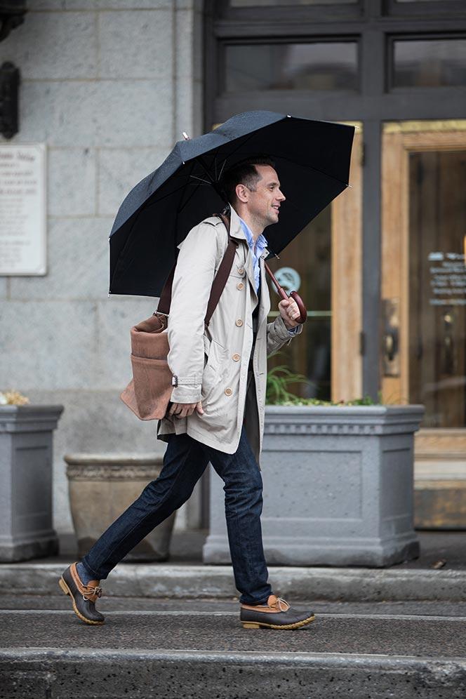 mens casual rain shoes