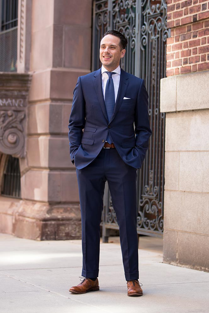 Royal Blue Suit Trend: Spring Fashion - He Spoke Style