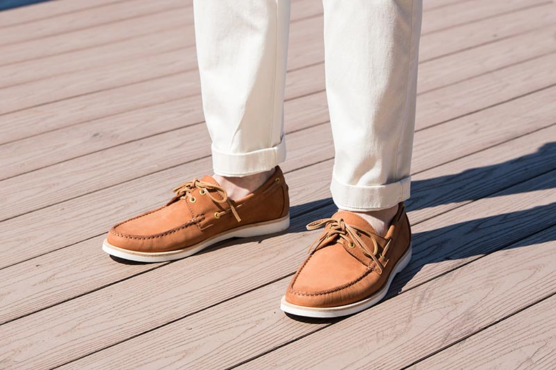 boat shoes history men