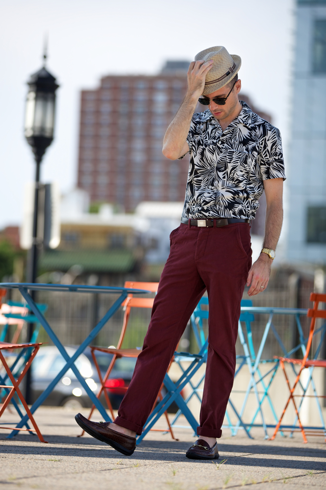 ways to wear printed shirt