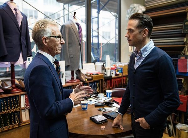 We recently had the opportunity to meet with British tailoring legend Edward Sexton in NYC.