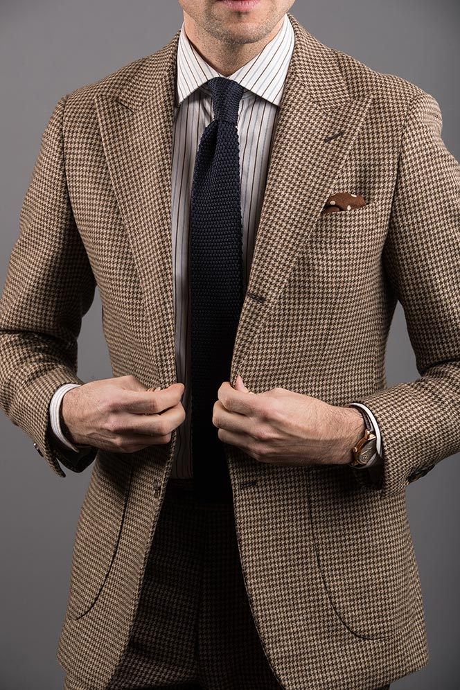 patch pockets suit blazer
