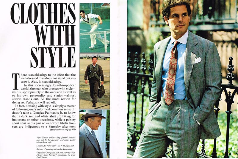 A History Of Men S Fashion And Style He Spoke Style
