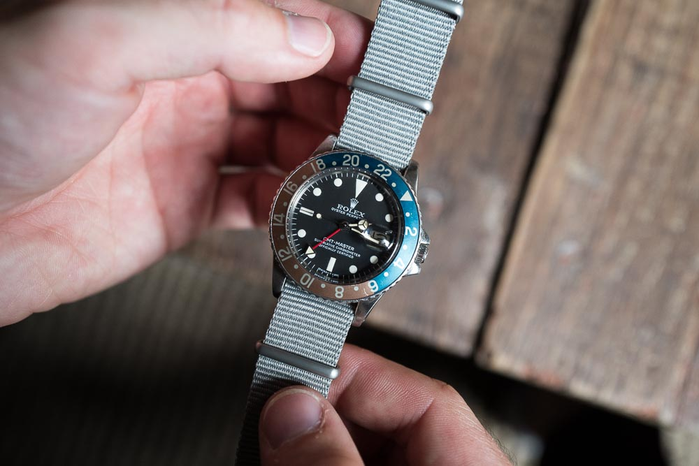 how to install nato strap watch