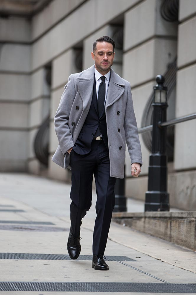 Dark Navy Suit Classic Business Outfit Idea , He Spoke Style