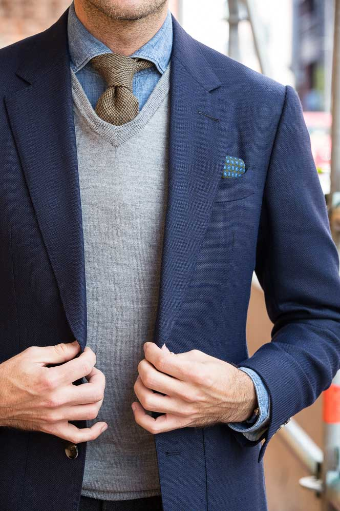 v neck mens business casual outfits