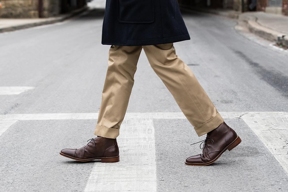 Winter S Utility Boot The Leather Chukka He Spoke Style