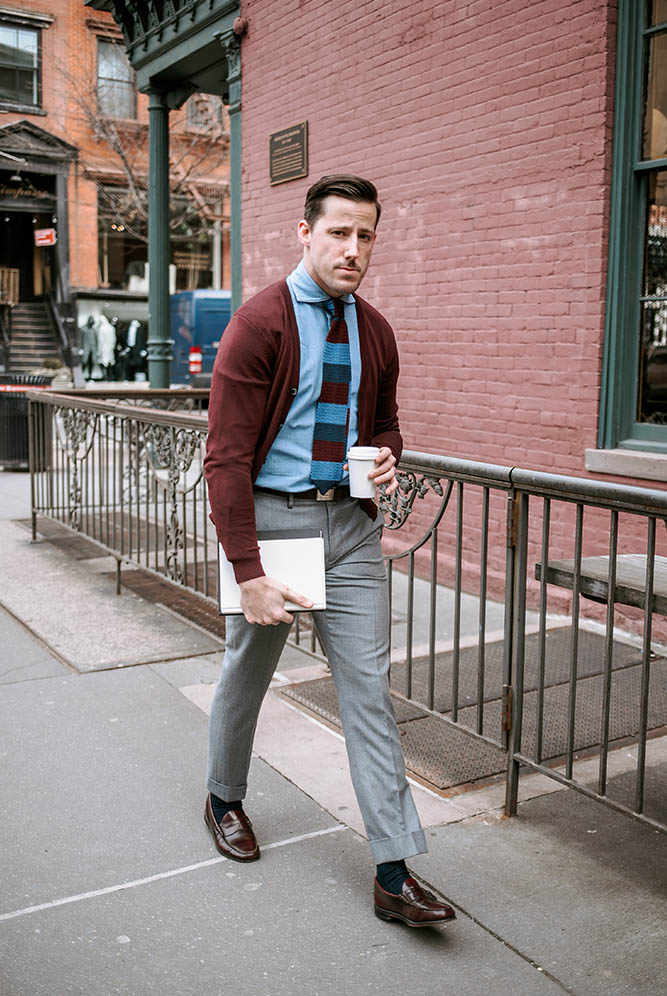 Need a Business Casual Look? Wear Chambray , He Spoke Style