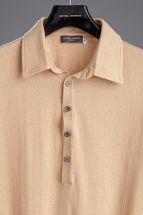 Camel Pima Cotton Polo Shirt