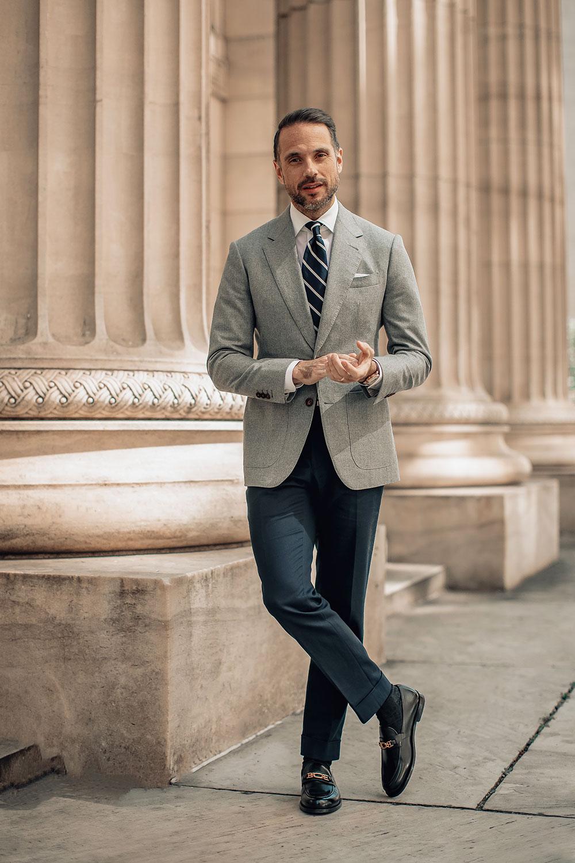 business casual wear men