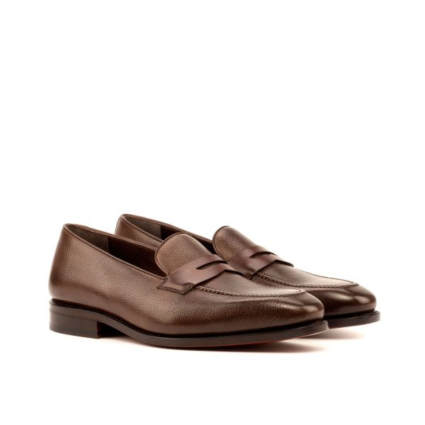 Dark Brown Full Grain Penny Loafer